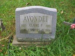Claire P Avondet