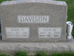 Marie Velma <i>Rifenbery</i> Davison