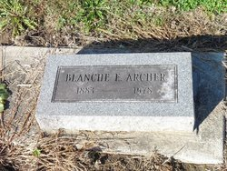 Blanche E <i>Love</i> Archer