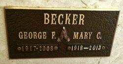 Mary Catherine Cappy <i>Hardy</i> Becker