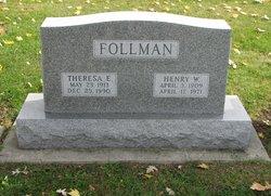 Theresa E. <i>Seyller</i> Follman