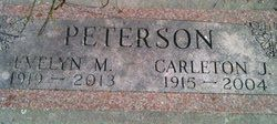 Evelyn Martha <i>Nickelson</i> Peterson