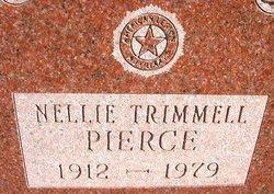 Nellie <i>Trimmell</i> Pierce