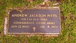Andrew Jackson Pitts