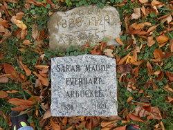 Sarah Maude <i>Everhart</i> Arbuckle