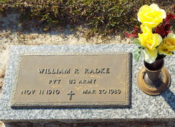 Pvt William Richard Radke