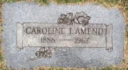 Caroline Irene <i>Green</i> Amend