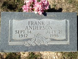 Frank J, Anderson