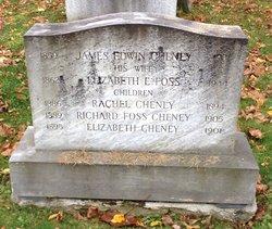 Elizabeth E <i>Foss</i> Cheney