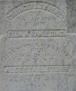 Alcesta L. <i>Stone</i> Brewer