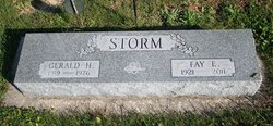 Fay Eileen <i>Webner</i> Storm
