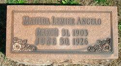 Matilda <i>Lemier</i> Angelo