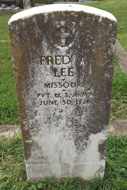 Frederick A Lee