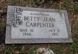 Betty Jean Jeannie <i>Allen</i> Carpenter