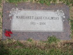 Margaret Jane Chalmers