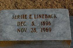 Bertie Elizabeth <i>Temple</i> Lineback