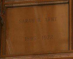 Sarah <i>Brown</i> Army