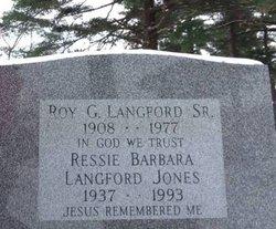 Roy Glen Langford, Sr