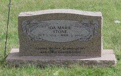 Ida M <i>Skinner</i> Stone