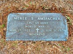 Rev Merle Sylvester Amspacher