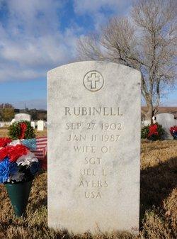 Rubinell N Ruby <i>Randle</i> Ayers