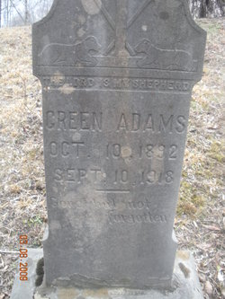 Green Adams