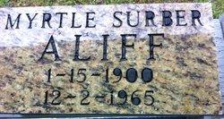Myrtle <i>Surber</i> Aliff