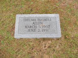 Thelma Elleanor <i>Haskell</i> Allen