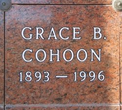 Grace Blanche <i>Brown</i> Cohoon