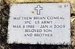 Matthew Brian Comeau