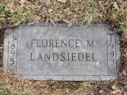 Florence E Landsiedel