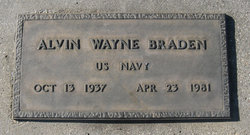 Alvin Wayne Braden