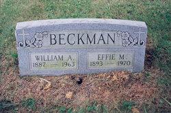 Effie Myrtle <i>Steyer</i> Beckman