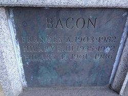 Frances <i>Atchinson</i> Bacon