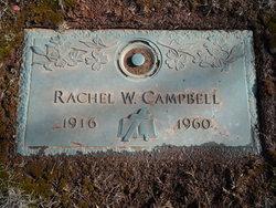 Rachel <i>Welch</i> Campbell