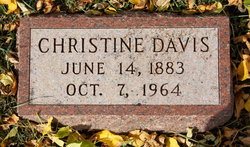 Christine <i>Thompson</i> Davis