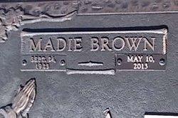 Madie Dovie <i>Brown</i> Atkins