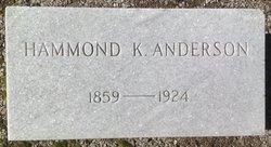 Hammond K Anderson