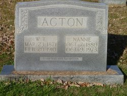 Nannie Acton