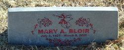 Mary A. Bloir