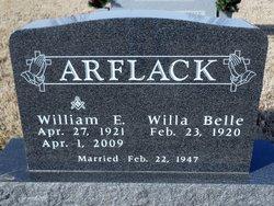 William Edwin Will Ed Arflack