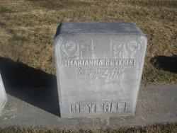 Marianna Mary <i>Martin</i> Beyerle