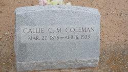 Callie C.M. Coleman