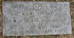 Capt Karl Habel