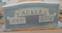 Madie E. <i>Robertson</i> Acker