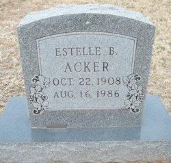 Estelle Beatrice <i>Wooten</i> Acker