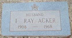 Irvin Ray Acker