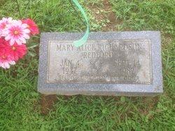 Mary Alice <i>Richardson</i> Redford