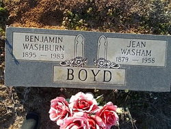 Jean <i>Washam</i> Boyd