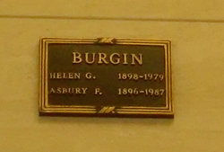 Asbury Frank Burgin, Sr